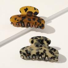 2pcs Leopard Hair Claw