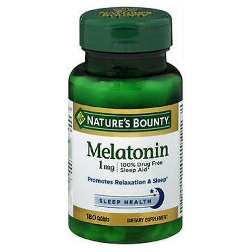 Nature's Bounty Melatonin 180 tabs by Nature's Bounty