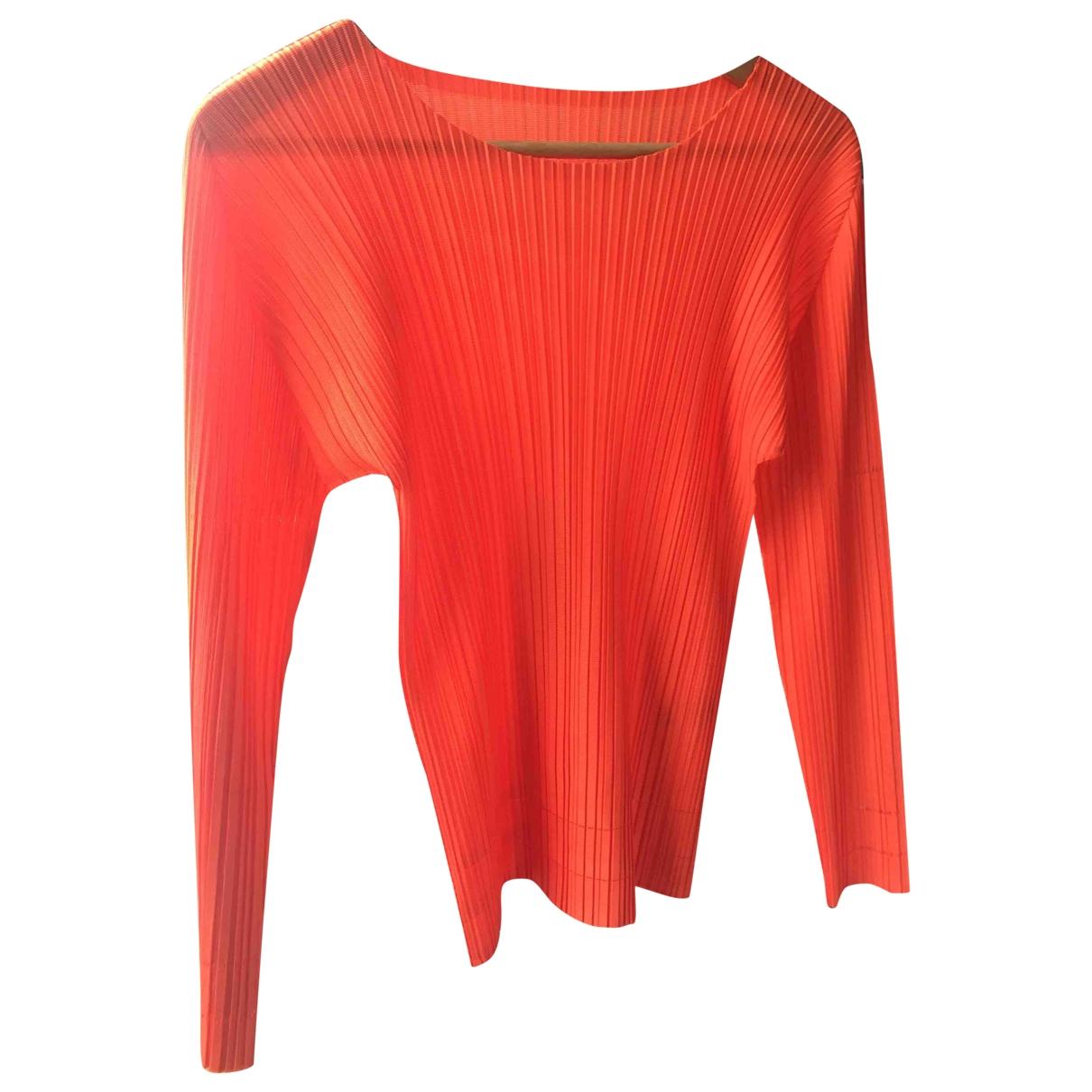 Pleats Please \N Orange  top for Women 3 0-5