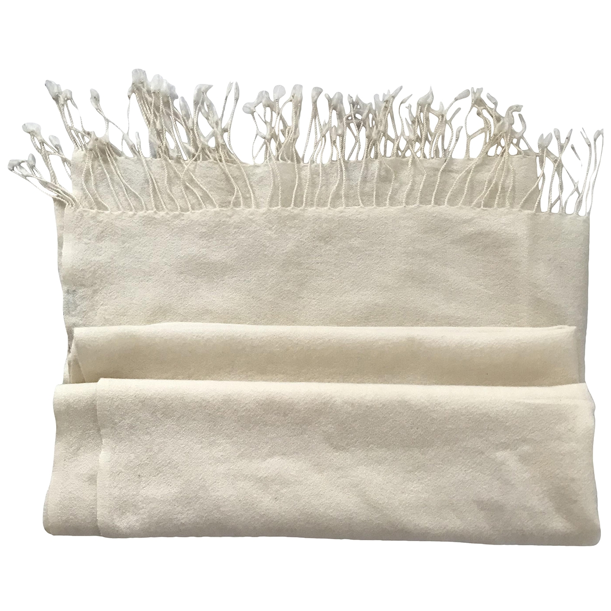 Mauro Grifoni \N White Wool scarf for Women \N