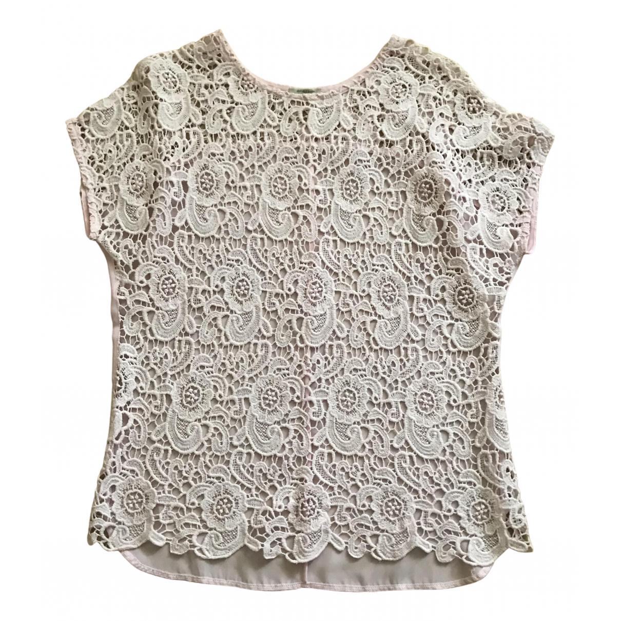 - Top Oversize pour femme en coton - rose