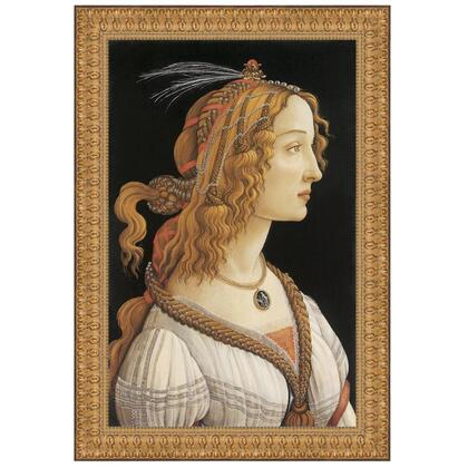 DA2844 34X49 Young Woman In Mythological
