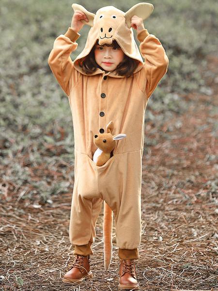 Milanoo Disfraz de niños Halloween Disfraces de canguro de Halloween para niños Mono para niños mono Disfraz Halloween