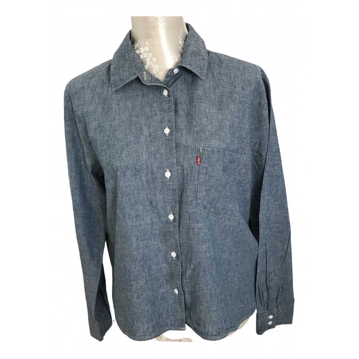 Levi's \N Blue Cotton  top for Women 40 FR