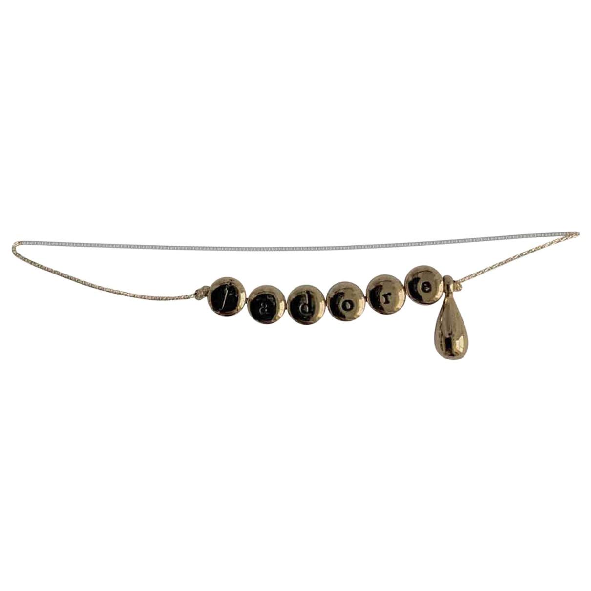 Dior \N Gold Metal bracelet for Women \N