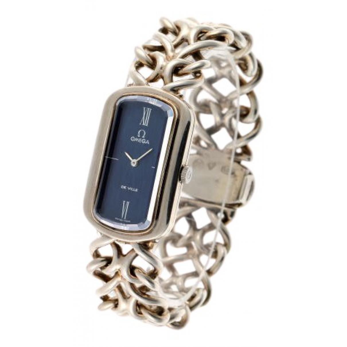 Omega De Ville  Gold Steel watch for Women \N