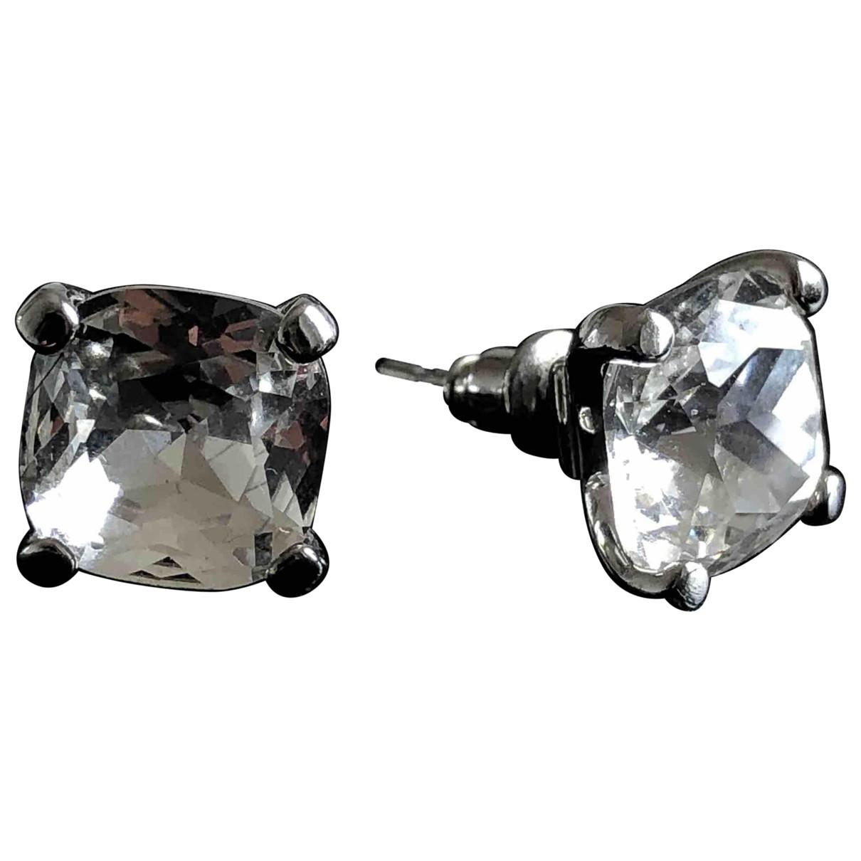 Karen Millen \N Silver Crystal Earrings for Women \N