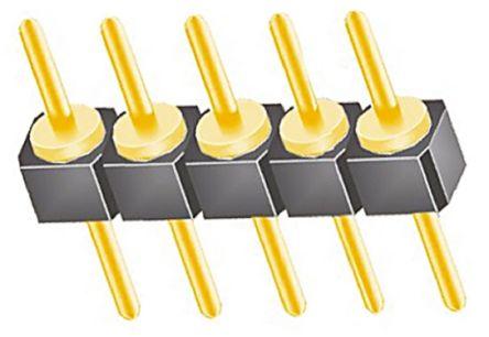 Samtec , TS, 5 Way, 1 Row, Straight Pin Header