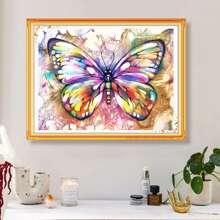 Butterfly Print DIY Diamond Painting