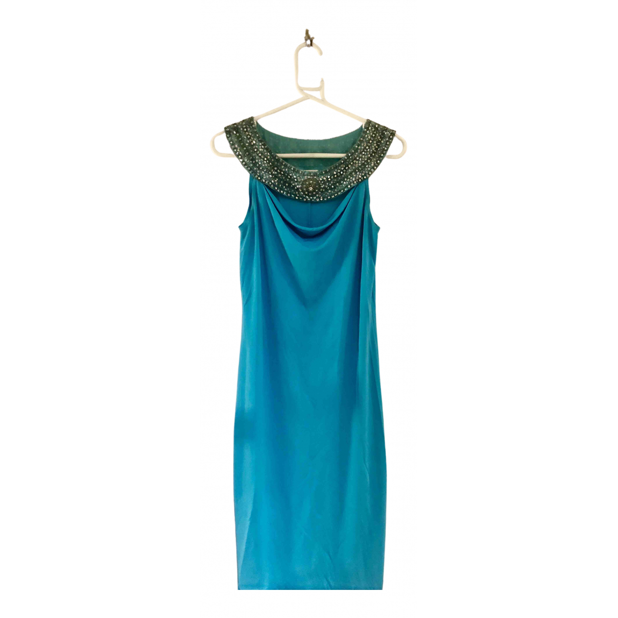 Escada \N Kleid in  Blau Polyester
