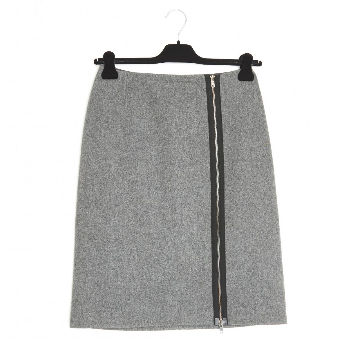 Celine \N Rocke in  Grau Wolle