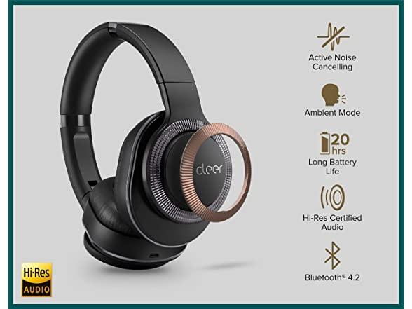Cleer Flow I Wireless Noise Cancelling Headphones