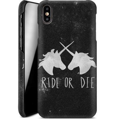Apple iPhone XS Max Smartphone Huelle - Ride or Die von Leah Flores