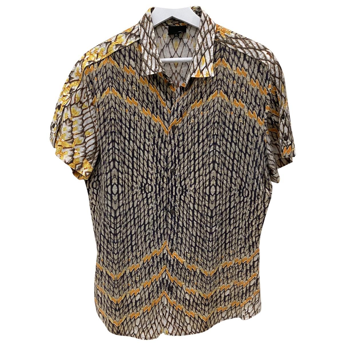 Roberto Cavalli N Cotton Shirts for Men XL International