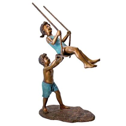 PN7538 Swinging Children Bronze