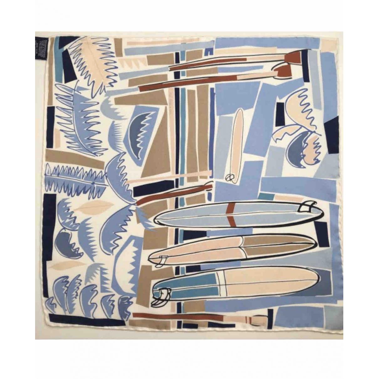 Hermès Carré 90 Navy Silk Silk handkerchief for Women \N