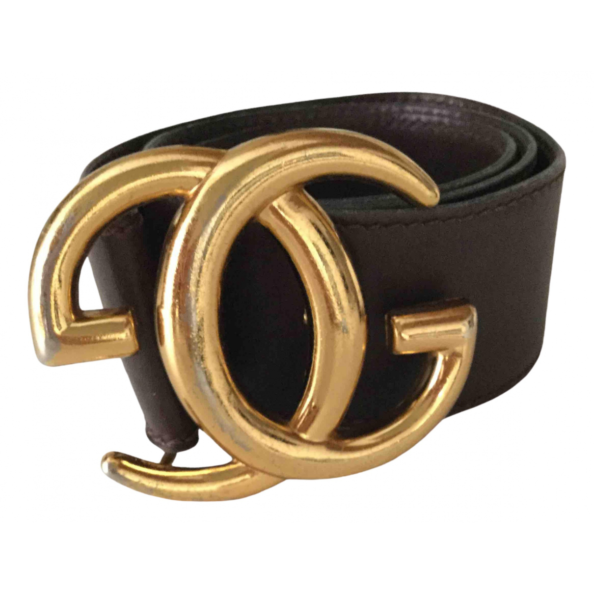 Gucci \N Brown Leather belt for Women XS International