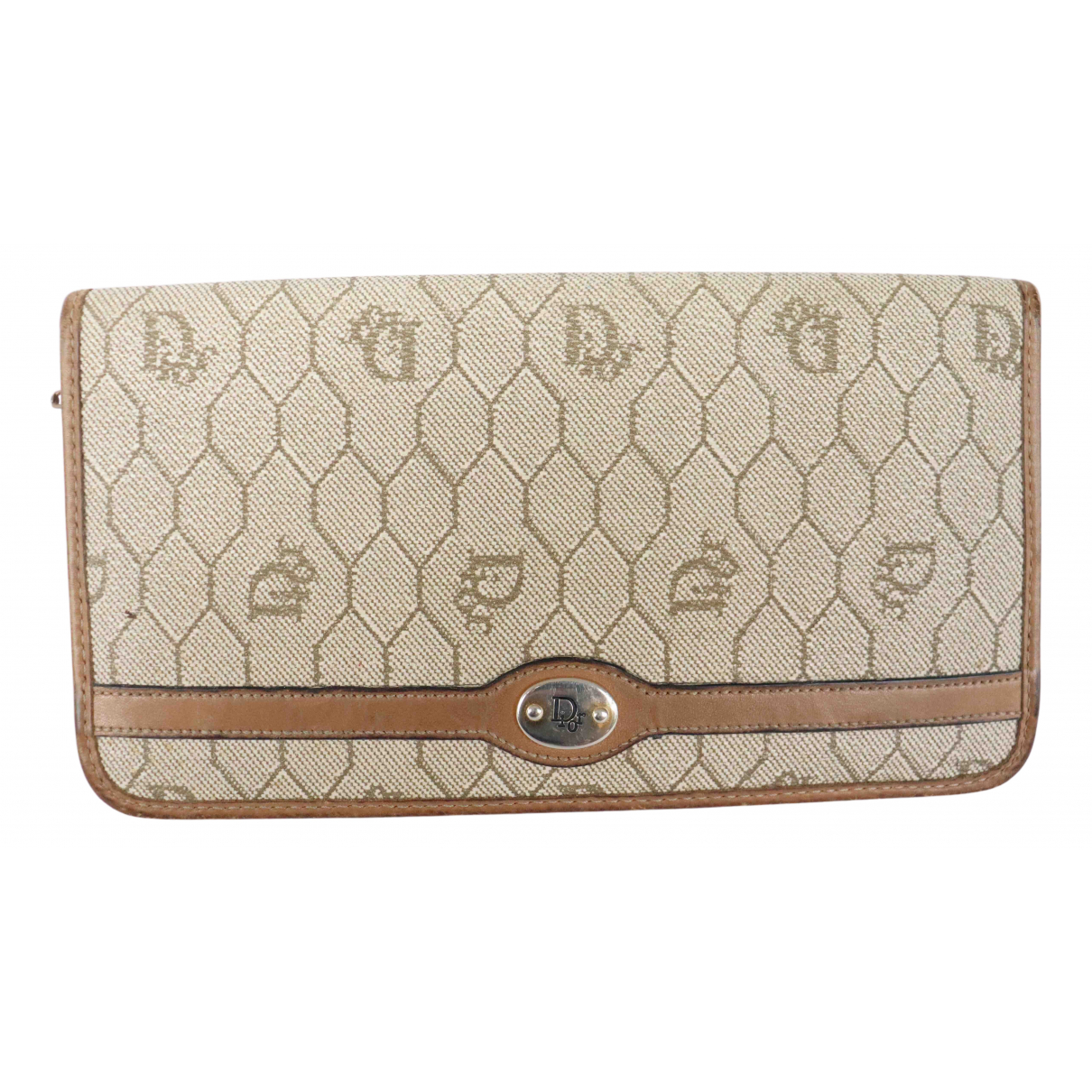 Dior N Ecru Cloth wallet for Women N