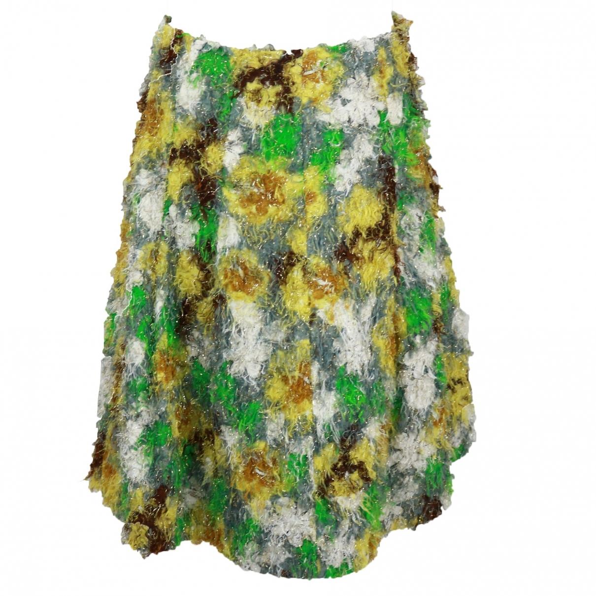 Marni - Jupe   pour femme en coton - vert