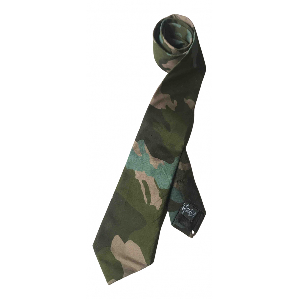 Givenchy \N Krawatten in  Khaki Baumwolle