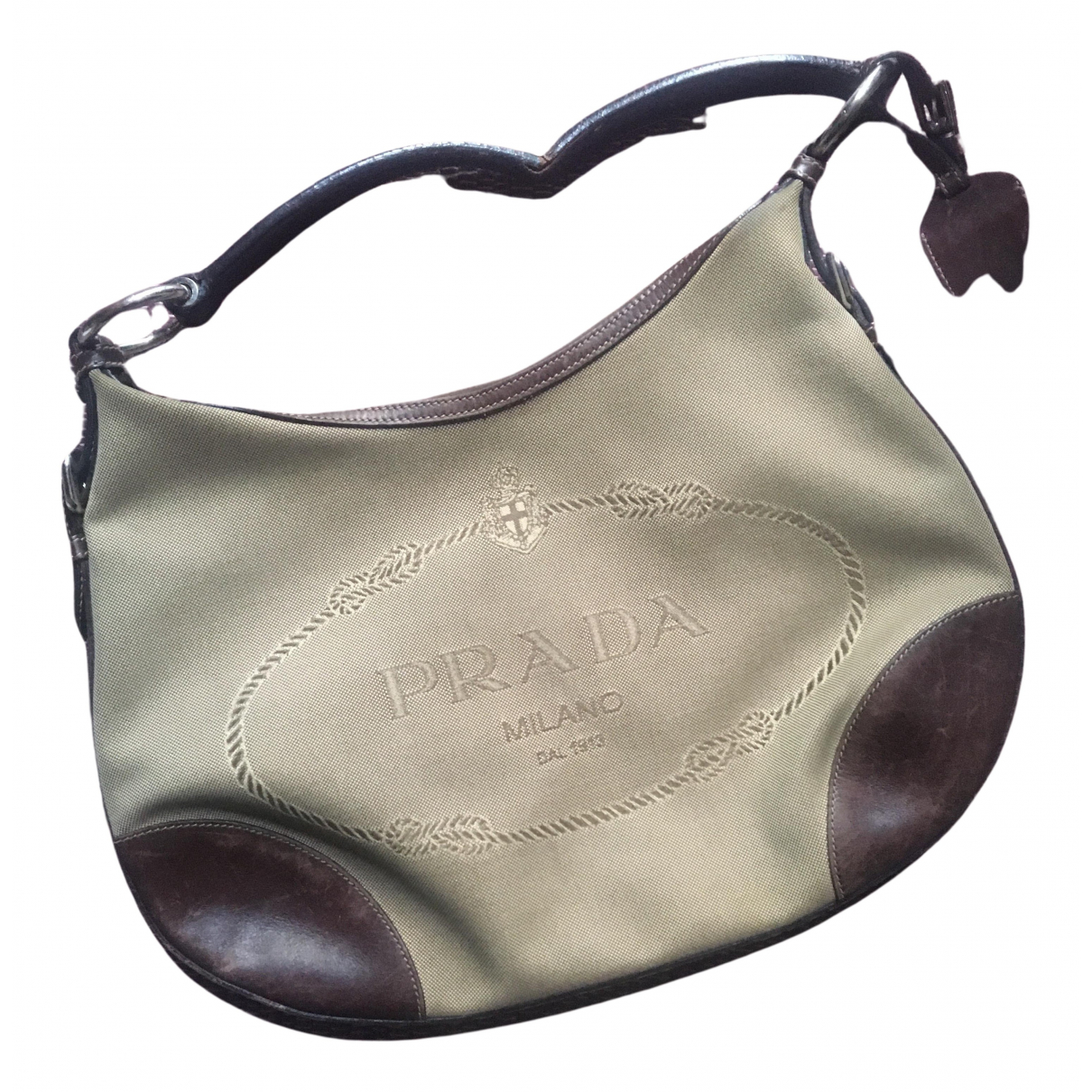 Prada Tessuto  Beige Cloth handbag for Women N