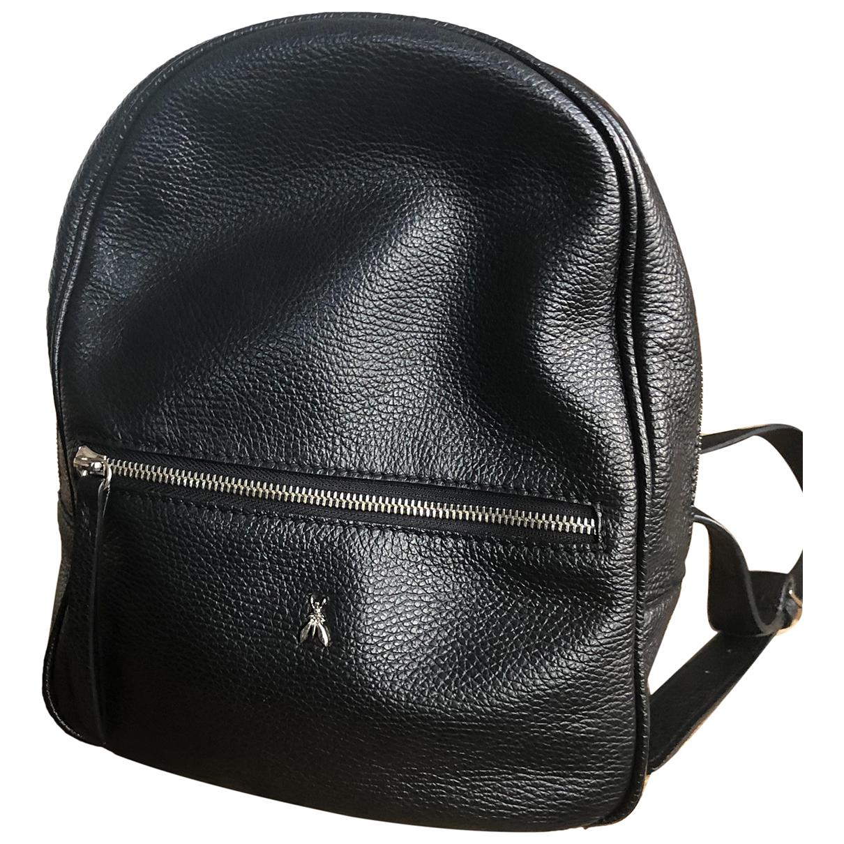 Patrizia Pepe N Black Leather backpack for Women N