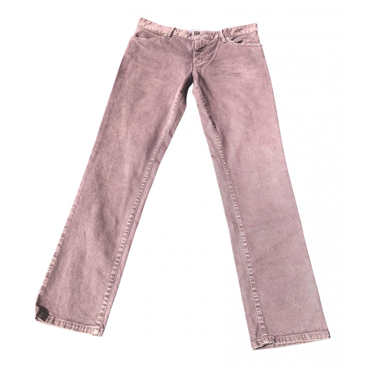 Boss Orange \N Brown Cotton - elasthane Jeans for Men 34 US
