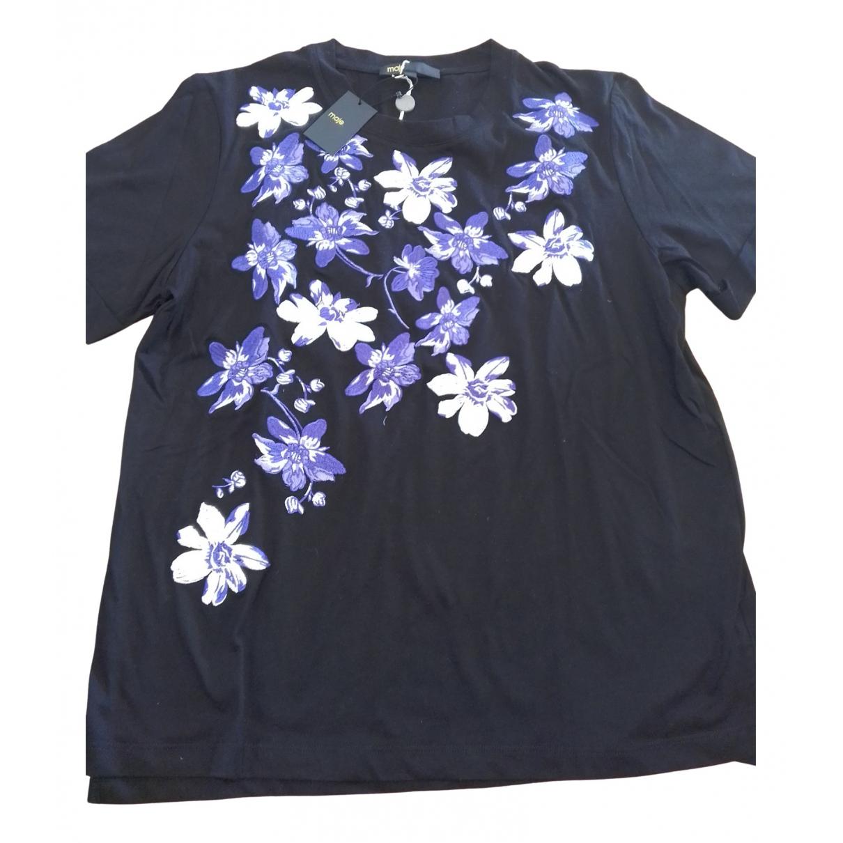 Maje Fall Winter 2019 Black Cotton Knitwear for Women 38 FR
