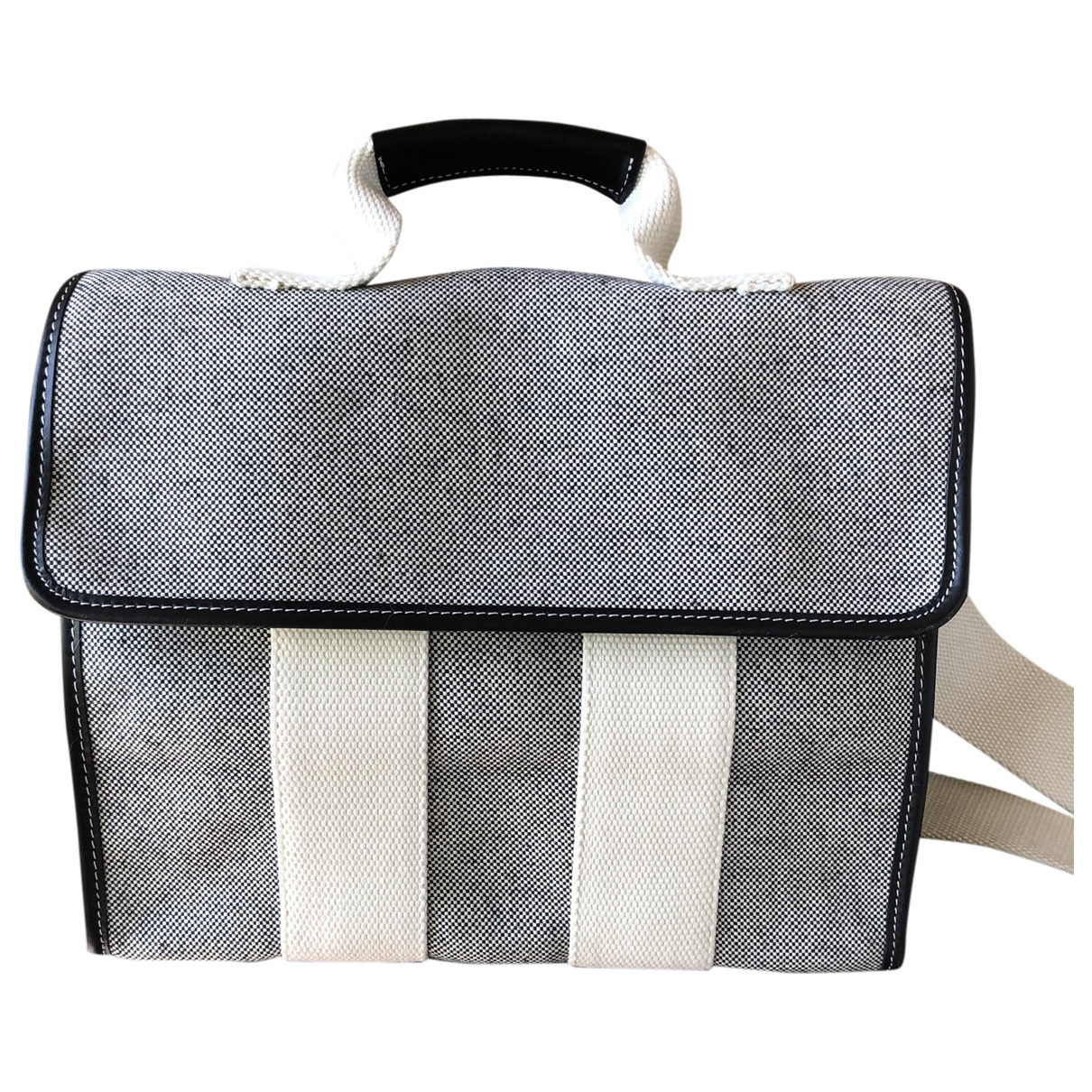 Rue De Verneuil \N Blue Cotton handbag for Women \N