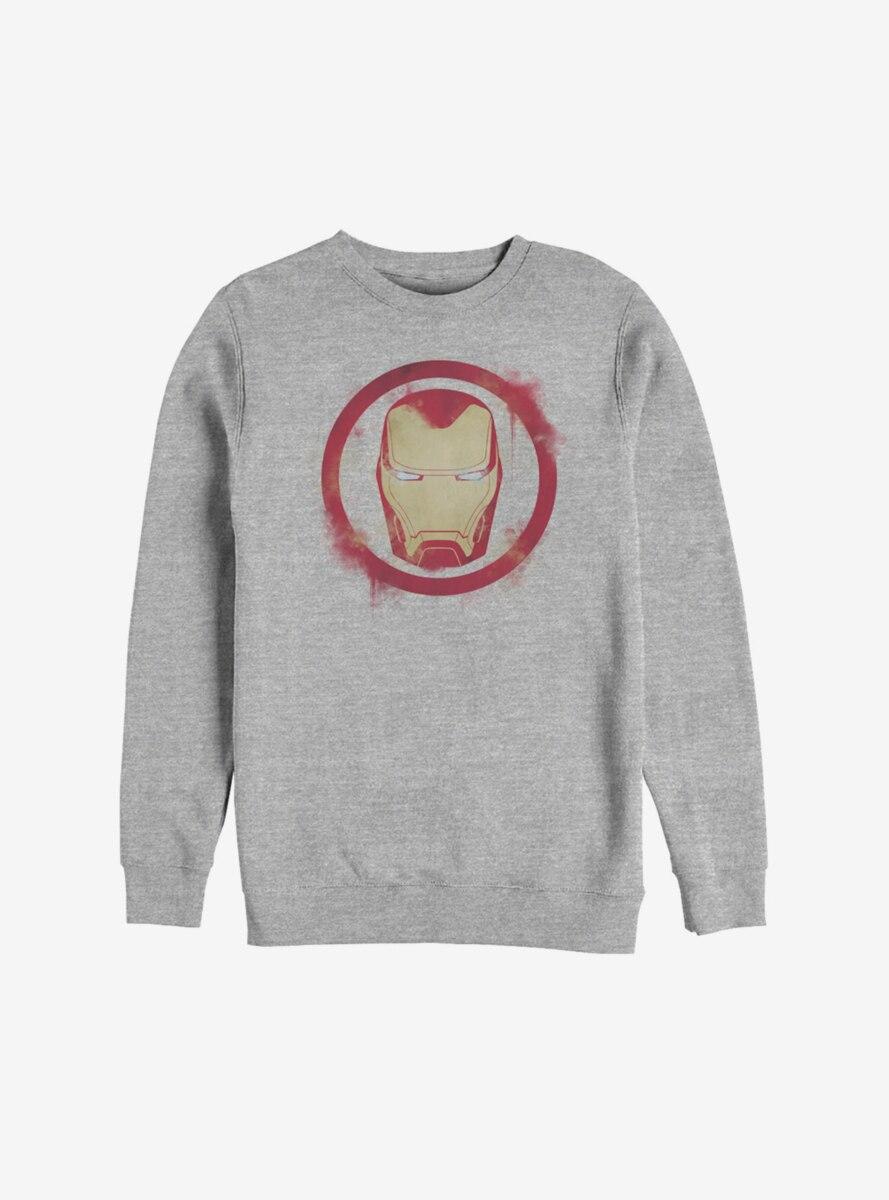 Marvel Iron Man Spray Logo Sweatshirt