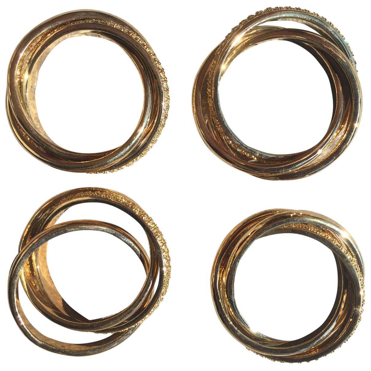 Non Signe / Unsigned \N Tischkultur in  Gold Metall
