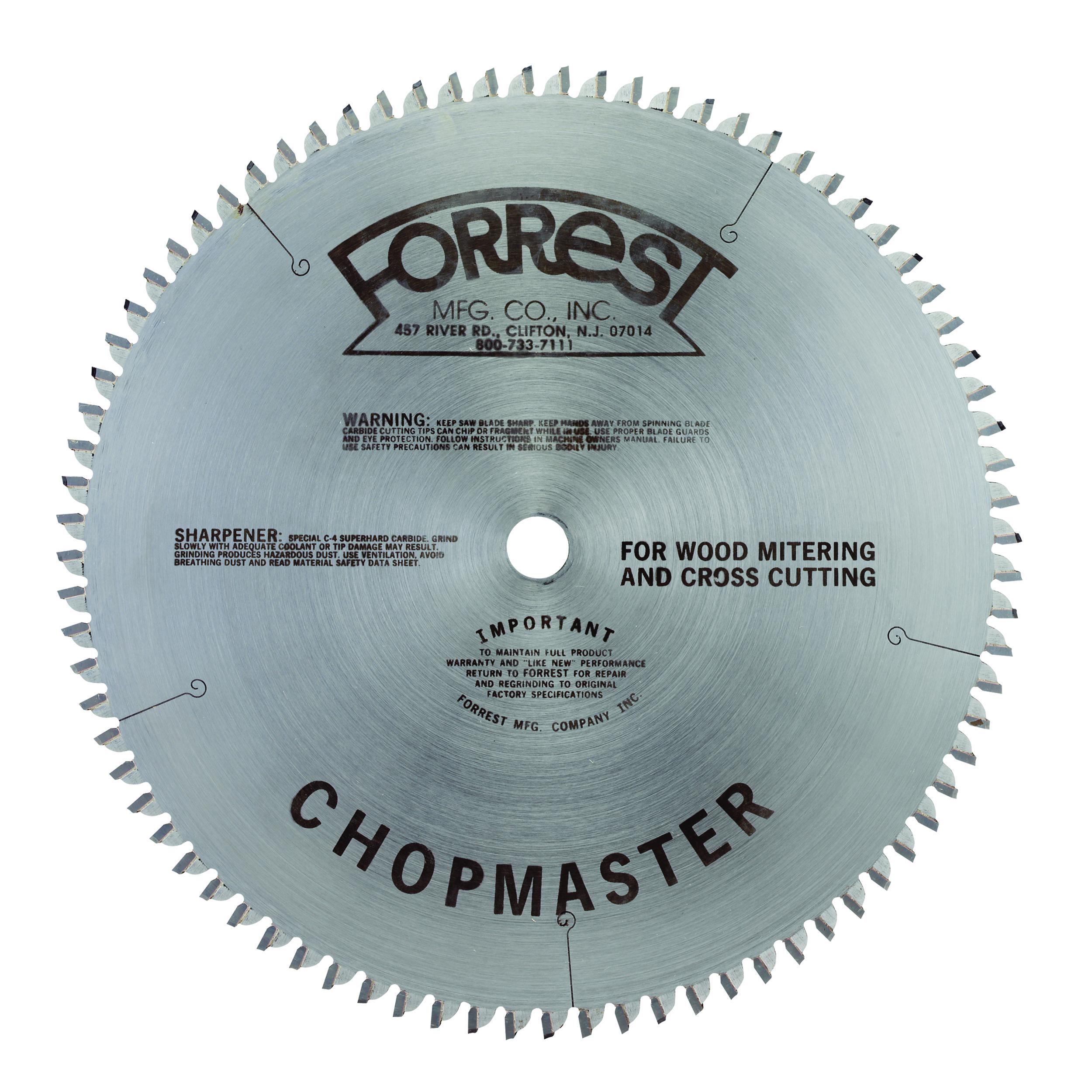 CM10806105 Chopmaster Circular Saw Blade 10