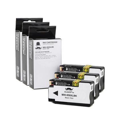 Compatible HP 950XL CN045AN cartouche d'encre noir - haut rendement de HP 950 encre noire - 3/Paquet