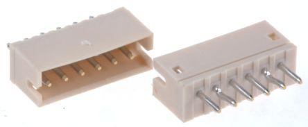 JST , ZH, 6 Way, 1 Row, Top Entry PCB Header (5)