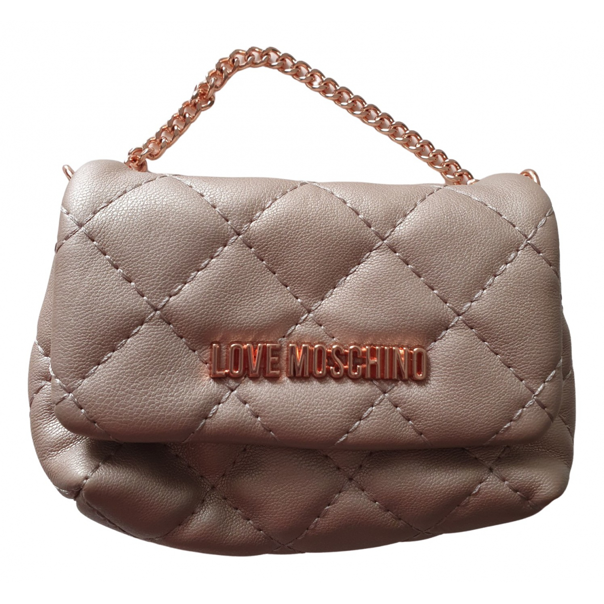 Bolso baguette Moschino Love