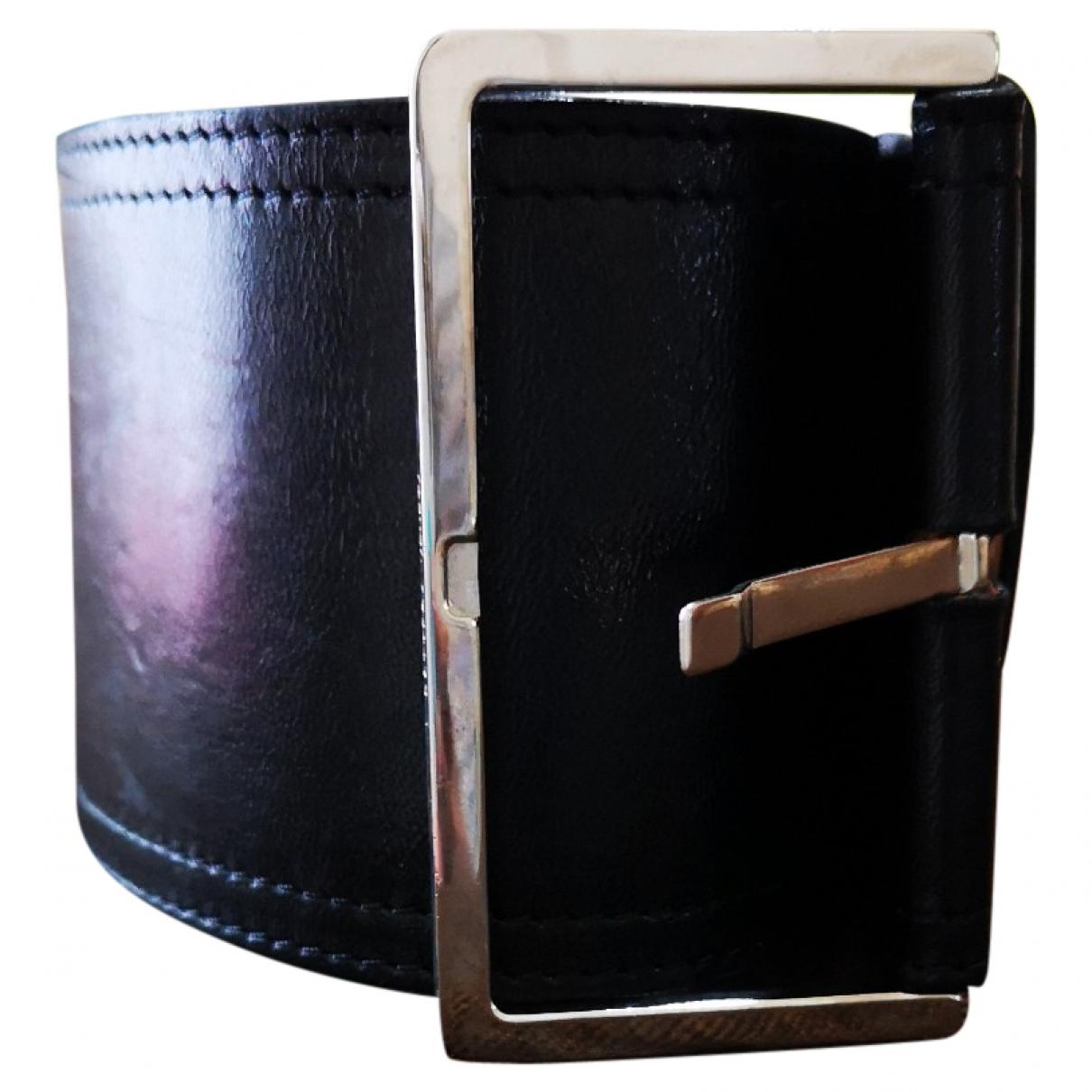 Bottega Veneta \N Black Leather belt for Women L International