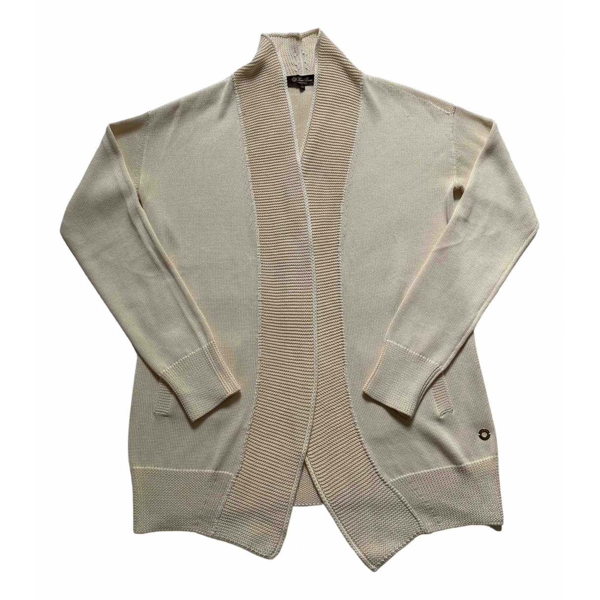 Loro Piana - Pull   pour femme en soie - beige