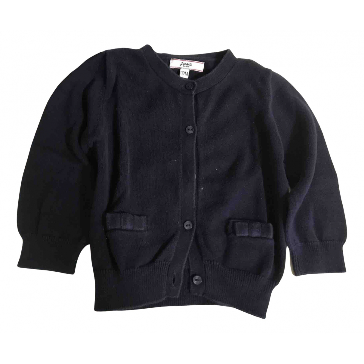 Jacadi - Pull   pour enfant en coton - bleu