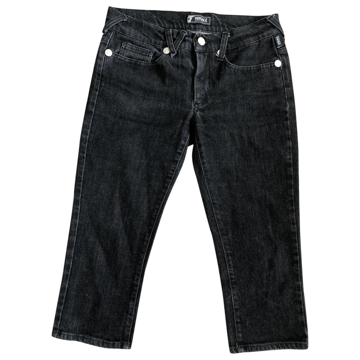 Versace Jeans \N Shorts in  Schwarz Denim - Jeans