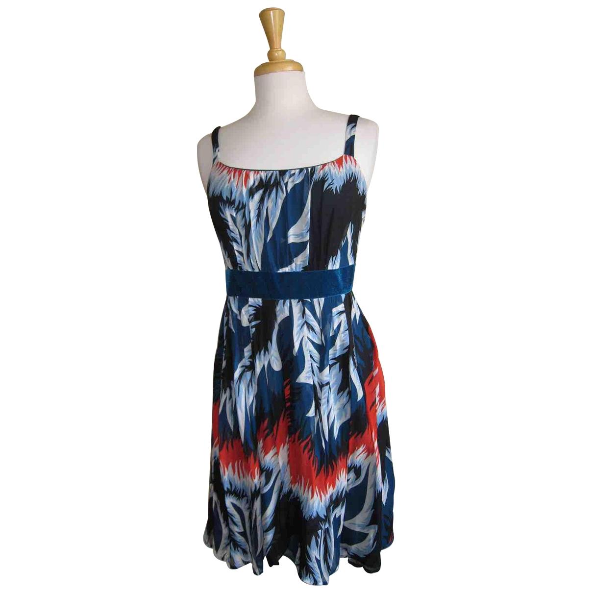 Eley Kishimoto \N Multicolour Silk dress for Women 6 US