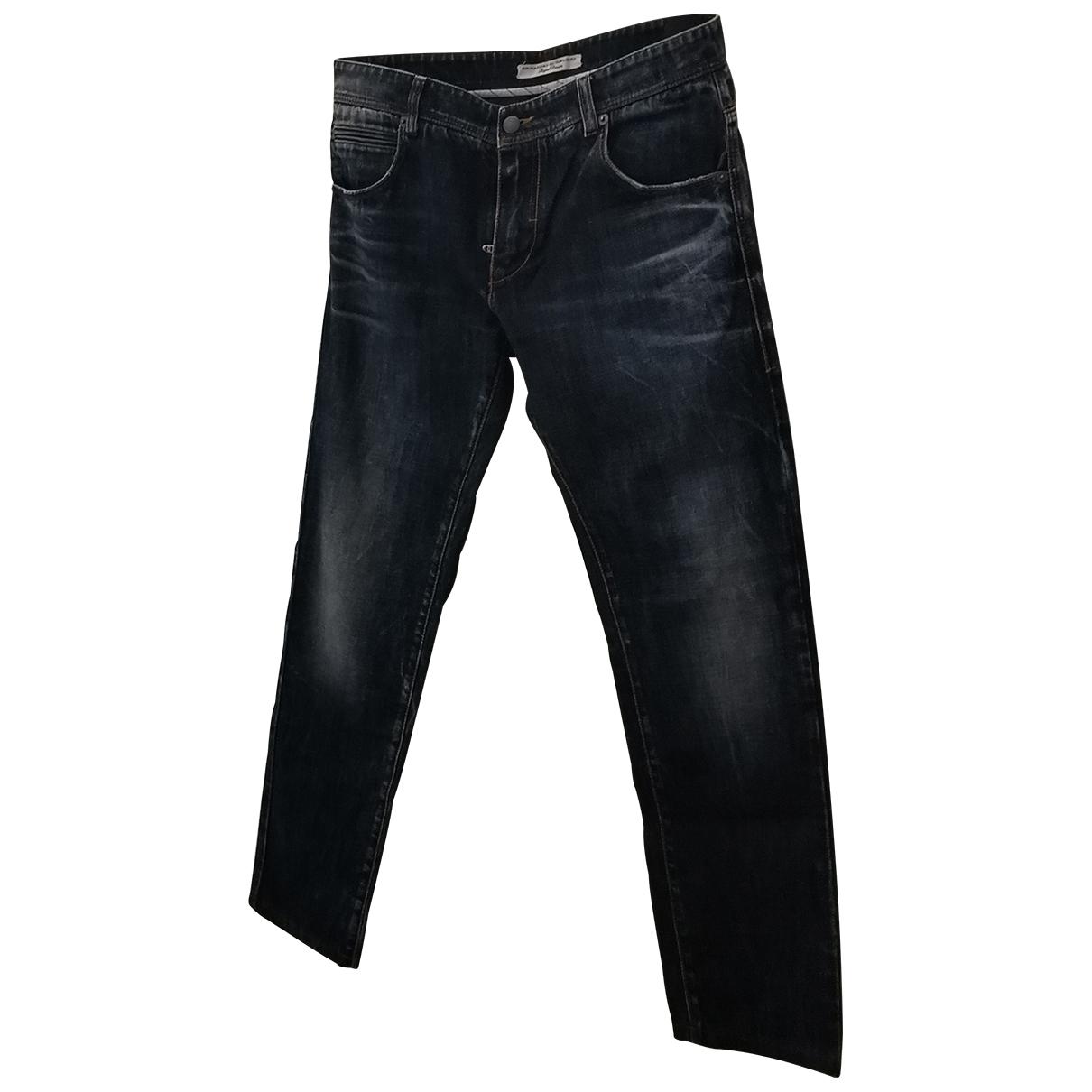 Ermanno Scervino \N Blue Cotton Jeans for Men 44 FR