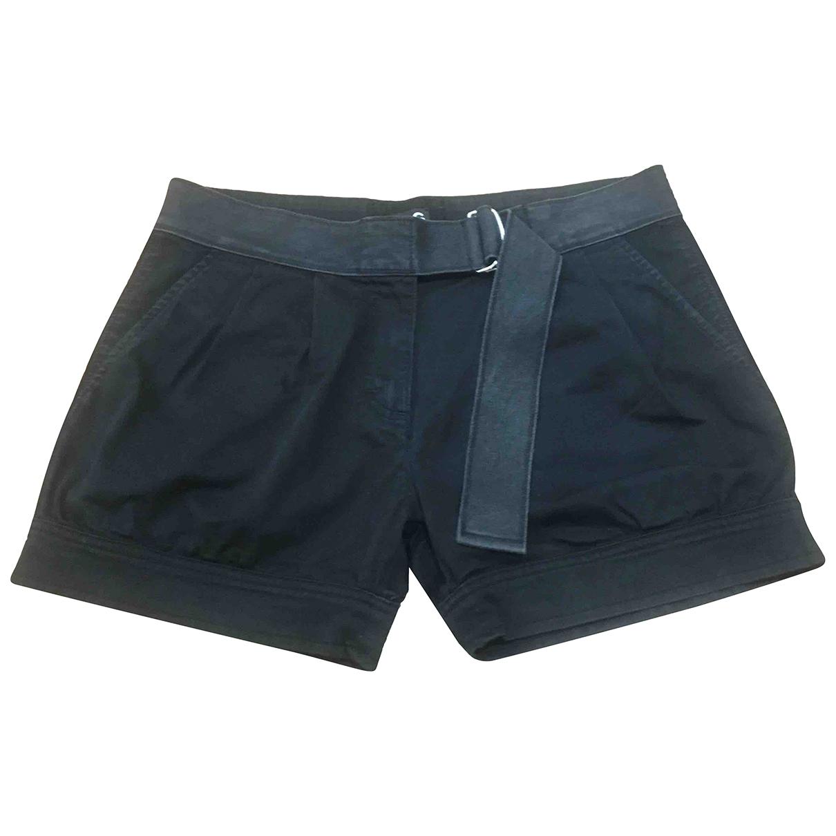 D&g \N Shorts in  Schwarz Baumwolle