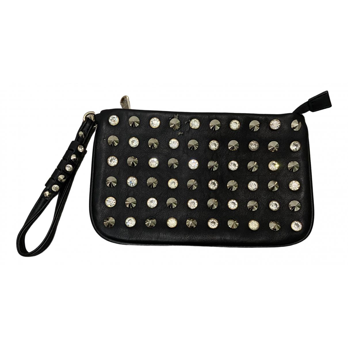 Patrizia Pepe N Black Leather Clutch bag for Women N