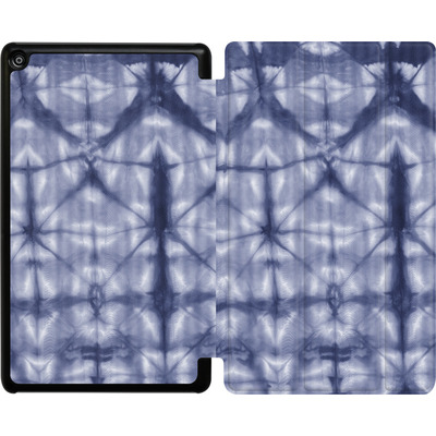 Amazon Fire HD 8 (2018) Tablet Smart Case - Tie Dye 2 Navy von Amy Sia