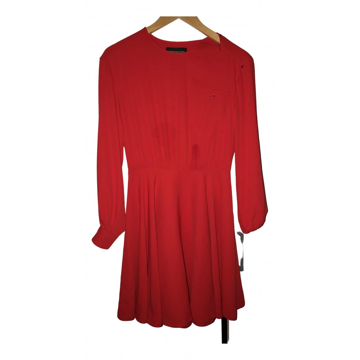 Sport Max - Robe   pour femme en coton - rouge