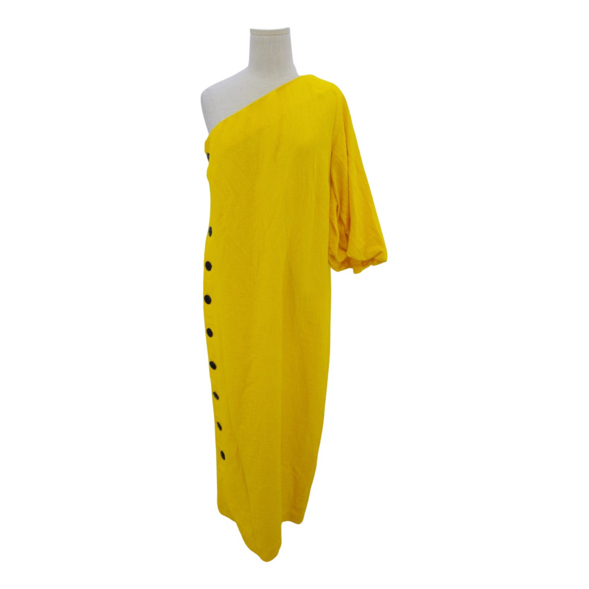 Mara Hoffman \N Kleid in  Gelb Baumwolle