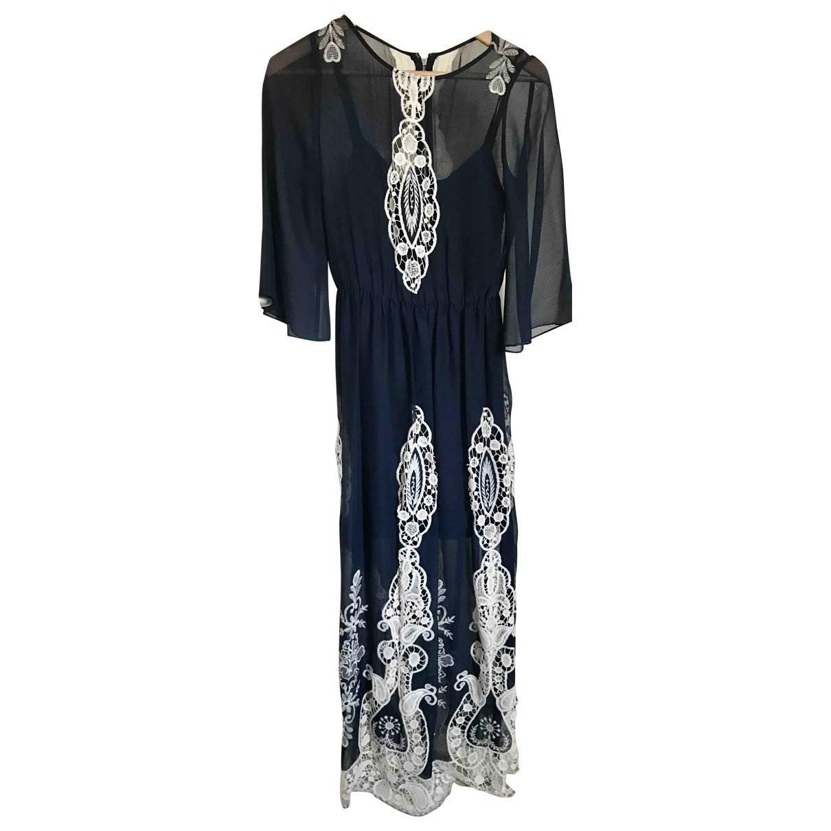 Alice & Olivia \N Kleid in  Blau Polyester
