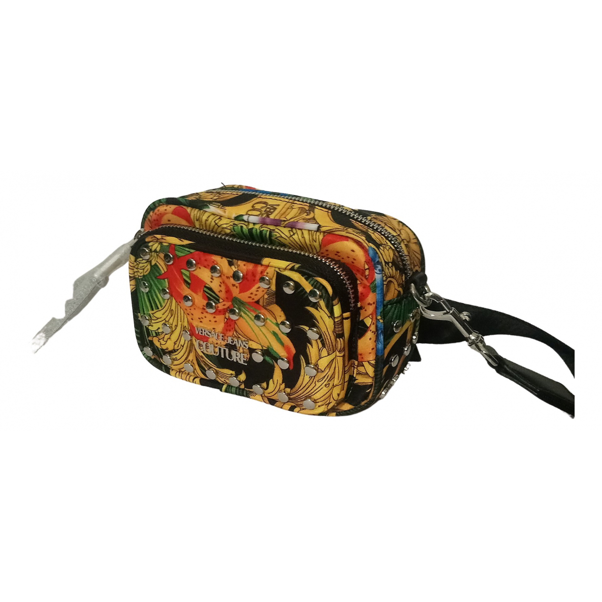 Versace Jeans \N Multicolour Cloth Clutch bag for Women \N