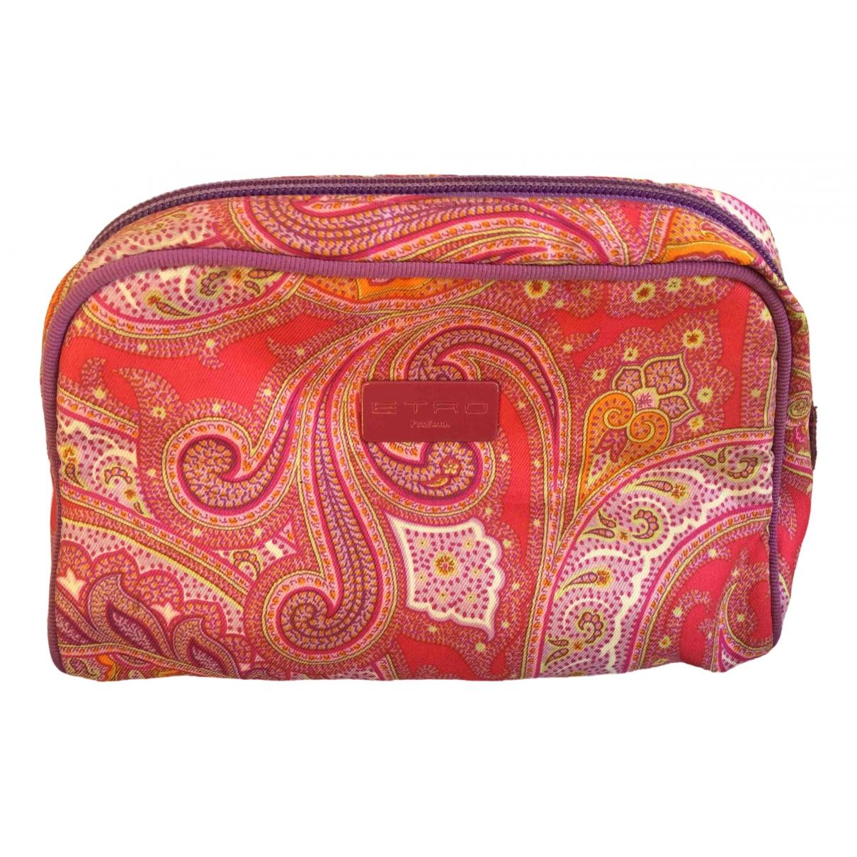 Bolsos clutch en Algodon Multicolor Etro