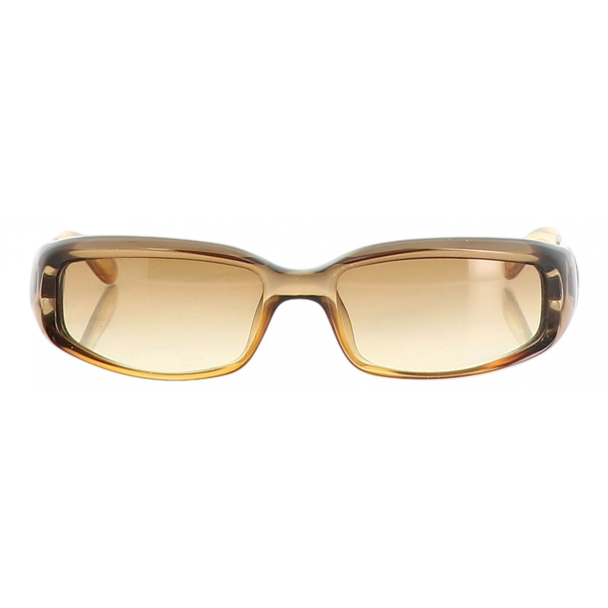Gucci \N Brown Metal Sunglasses for Women \N